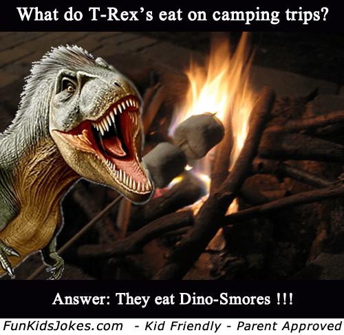 T-Rex-Camping