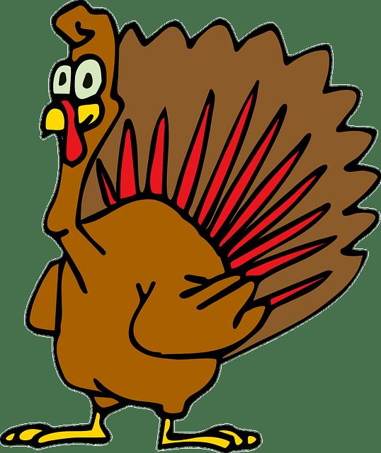 Move Clip Art Turkey