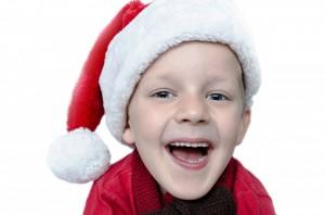 Christmas boy laughing - jokes for kids