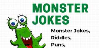 Monster Jokes for Kids and Adults