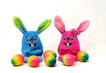 Knock Knock Easter Jokes - Bunny Rabbit Eggs