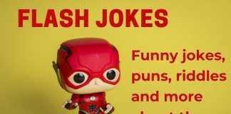 Jokes about the Flash from DC