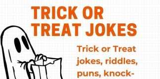 Trick or Treat Jokes for Halloween