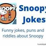 Snoopy Jokes - Fun Kids Jokes