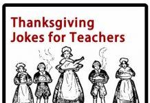 Thanksgiving Jokes for Teachers for School