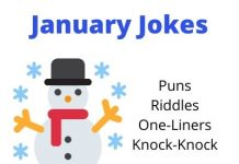 January Jokes, Puns, One-Liners and more