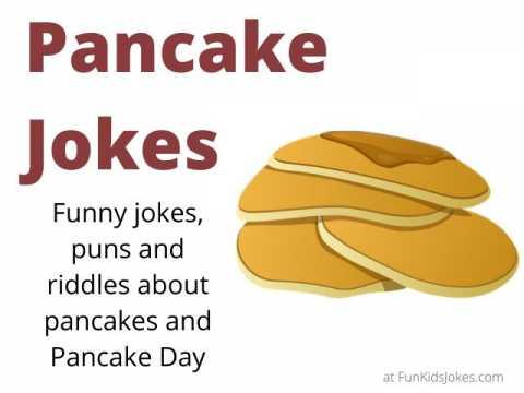 Pancake Jokes - Funny for Pancake Day