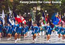 Color Guard Jokes - Funny Jokes for Color Guard and Marching Band