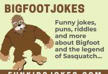 Bigfoot Jokes - sasquatch Jokes for Big Foot Fans