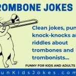 Trombone Jokes - Trombonist Cat