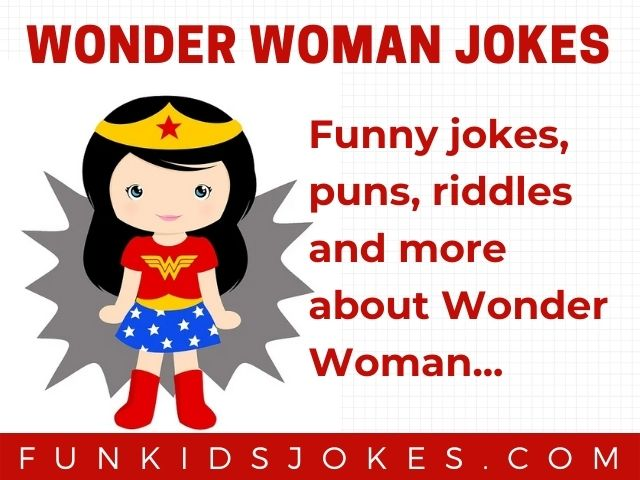 Wonder Woman Jokes
